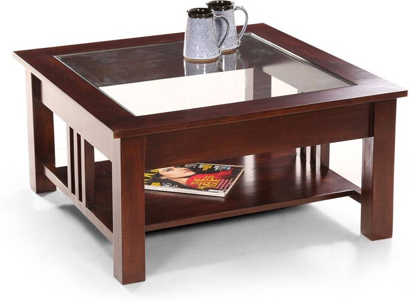 Fischers Lifestyle Vienna Square Solid Wood Coffee Table