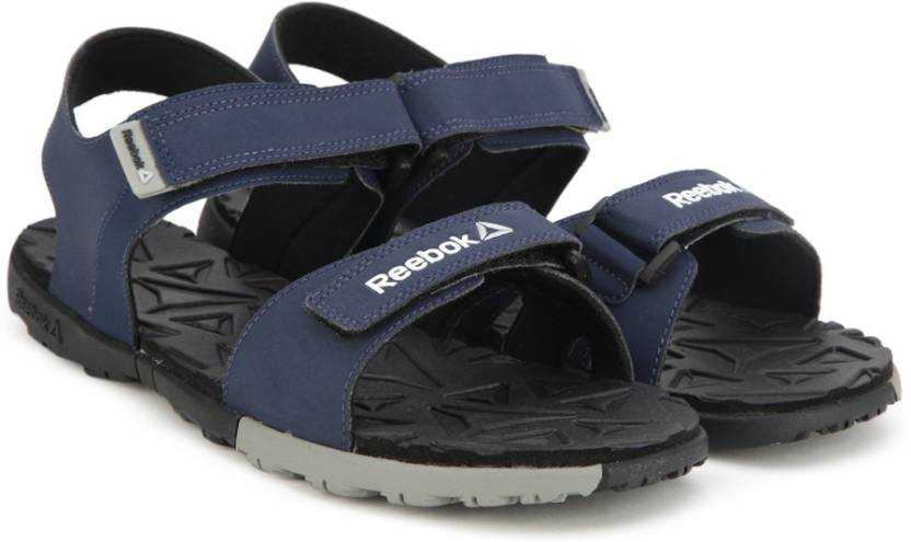 d1a5a58a3389 REEBOK Men NAVY GREY BLACK Sports Sandals - Buy NAVY GREY BLACK Color REEBOK  Men NAVY GREY BLACK Sports Sandals Online at Best Price - Shop Online for  ...