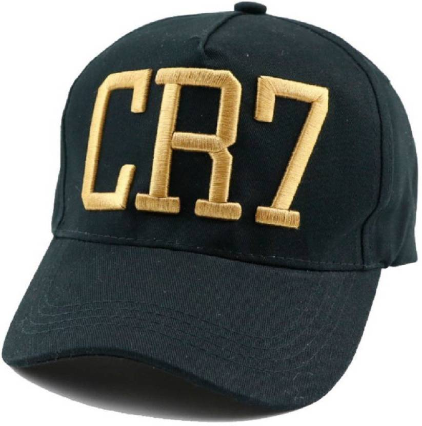 f4ade97e2 MSC Embroidered ms black cr7 cap for boys Cap - Buy MSC Embroidered ...