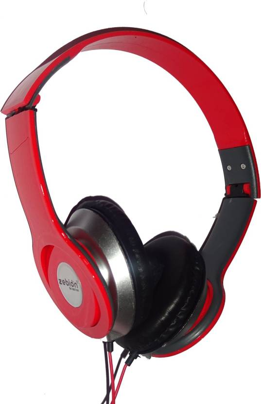 73c06d0bb50 Zebion ZEB_BEAT_HP_RD Wired Headphone Price in India - Buy Zebion ...