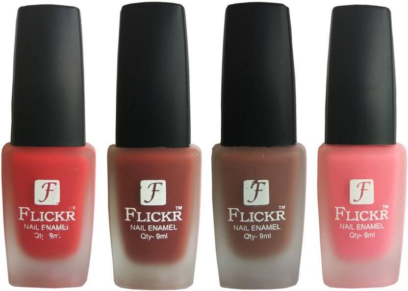 Flickr VELVET MATTE NAIL Polish Red,Nude,Brown,Peach - Price in ...