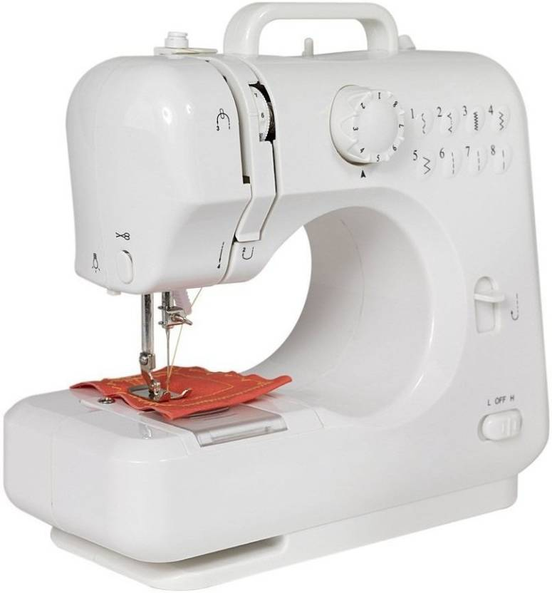 Wonder World Automatic Tread Rewind with Foot Padel Electric Sewing Machine  Built in Stitches 12  Wonder World Sewing Machines available at Flipkart for Rs.3999
