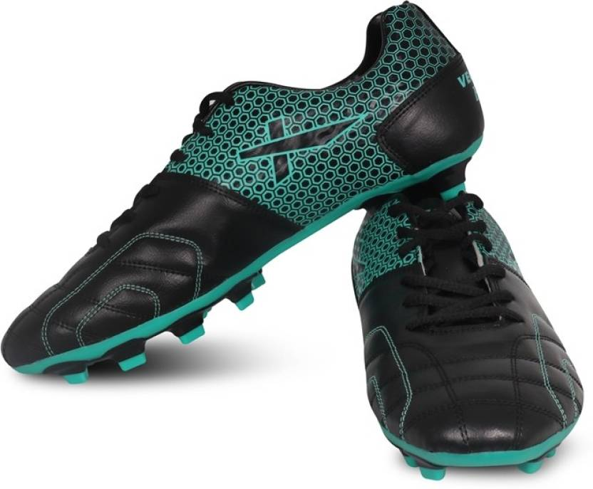 fd02ece08 Vector X Football Shoes For Men - Buy Black, SeaGreen Color Vector X ...