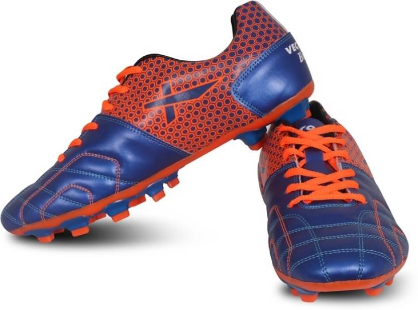 20dfbad8b9ba Vector X Football Shoes For Men - Buy Blue, Orange Color Vector X ...
