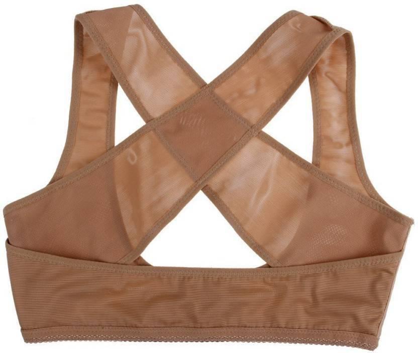 1a51742ecef91 Jern Women Stretchable Breast Push Up Brace Bra   Back Support (XL ...