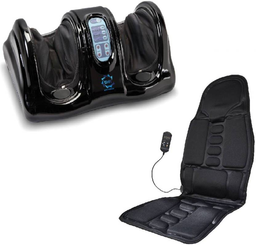 GHK HC2 Portable Compact Foot Massager Car Seat Special Combo