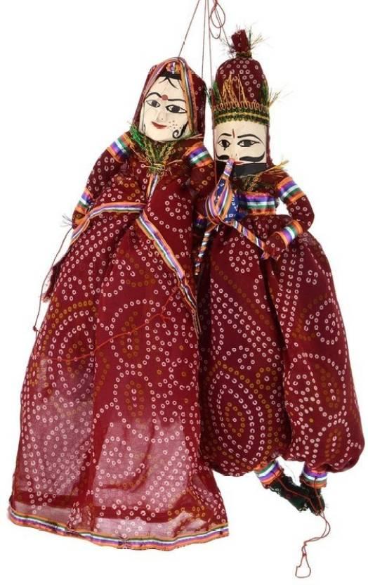 Pik Oops Handicraft Bazaar Rajasthani Famous Handmade Puppets