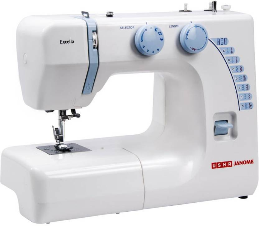 Usha Excella Electric Sewing Machine Price In India Buy Usha Magnificent Automatic Sewing Machine For Shirts