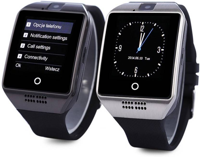 Jikra Bluetooth Smartwatch Compatible With Lenovo A606 Silver