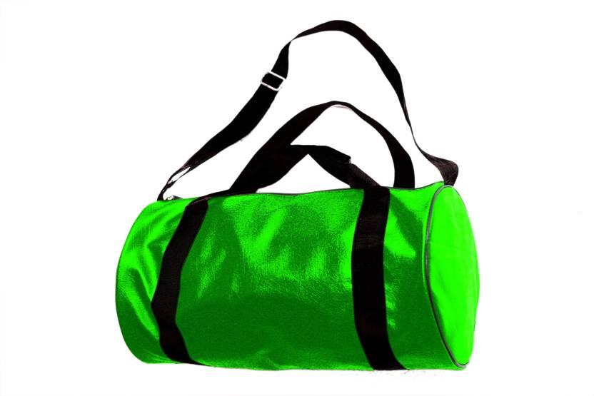a135497a8b2e InkCraft Gym Bag 25Litres Leatherrite Gym Duffle Bag Dyffle Gym Bag (Green