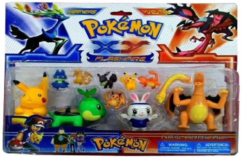 Assemble Pokemon Xy Series New Flashfire Set Of 10 Pokemon Xy