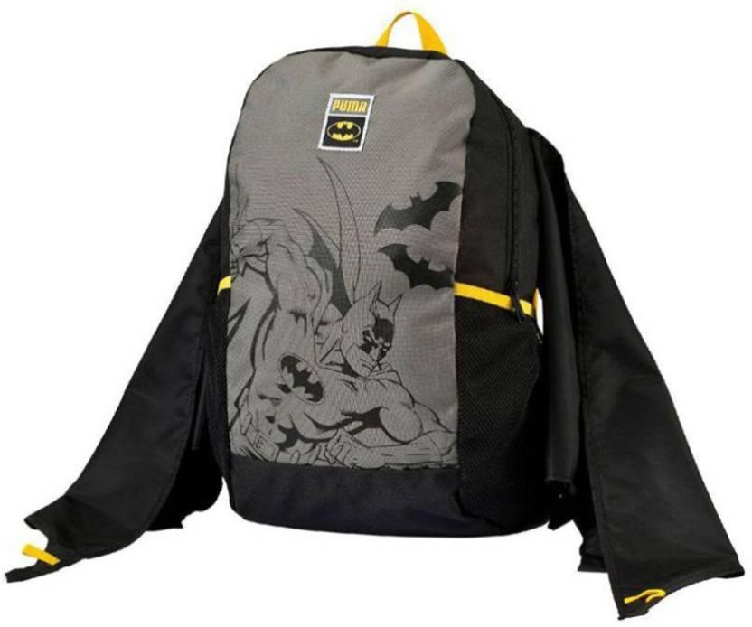 3b4ccc4e6479 Puma Batman Kids Backpack 1 L Backpack Black - Price in India ...
