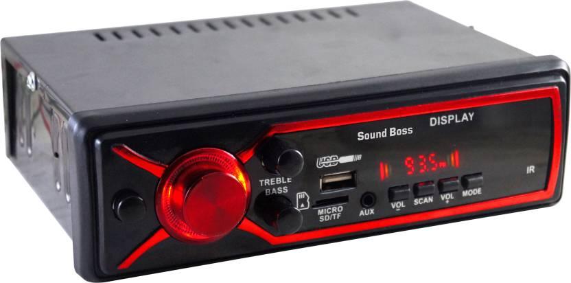 Sound Boss SB-0000BT BLUETOOTH/USB/SD/AUX/FM/MP3 Car Stereo