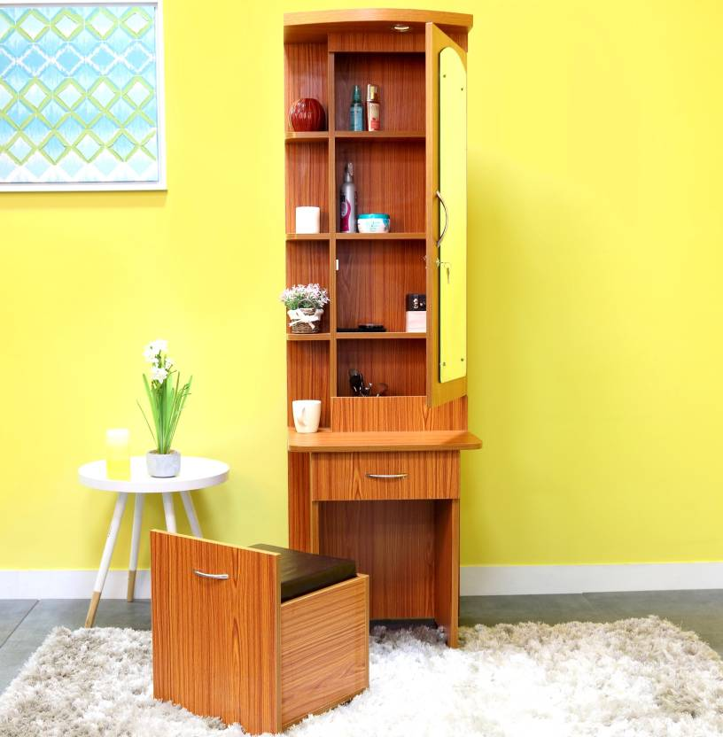 Furnicity Engineered Wood Dressing Table Price In India Buy