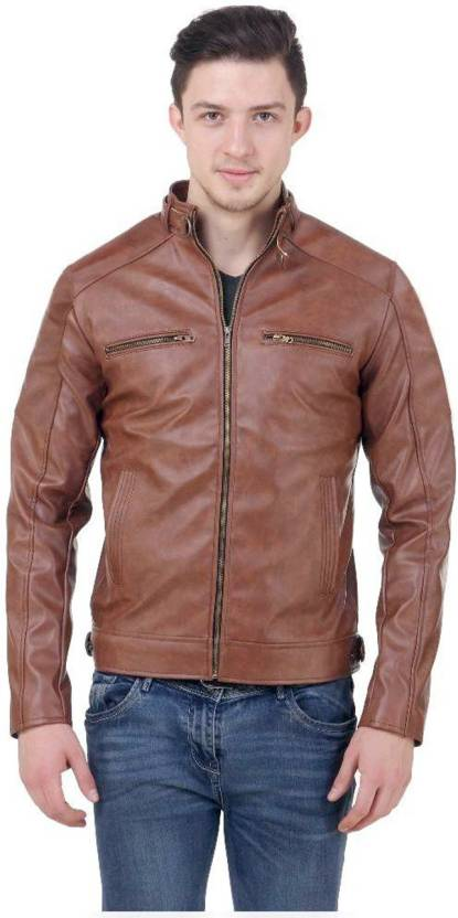 Sea Horse Full Sleeve Solid Men's Jacket