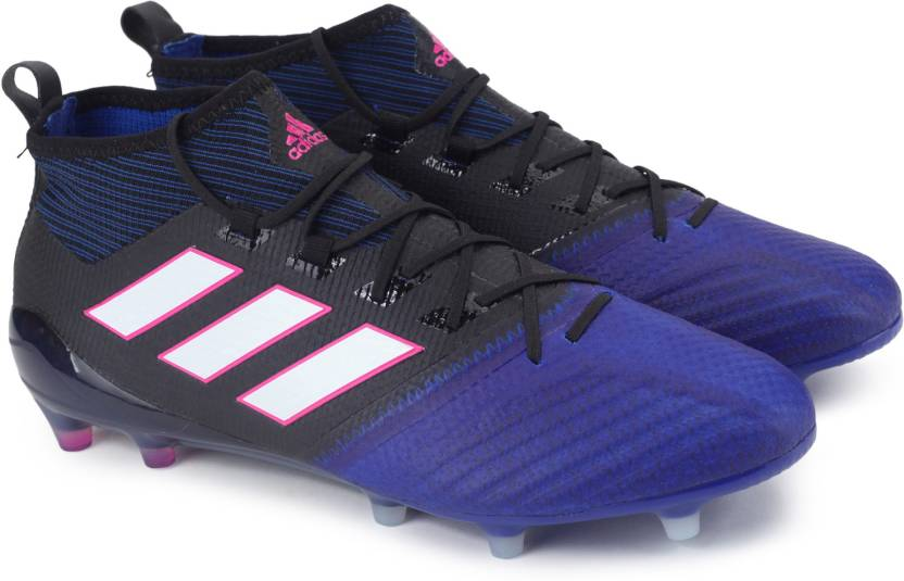 competitive price 7f992 719a8 ADIDAS ACE 17.1 PRIMEKNIT FG Football Shoes For Men (Black, Blue)