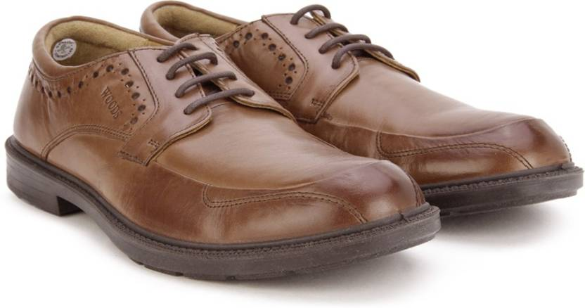 woods genuine leather by woodland lace up shoes buy