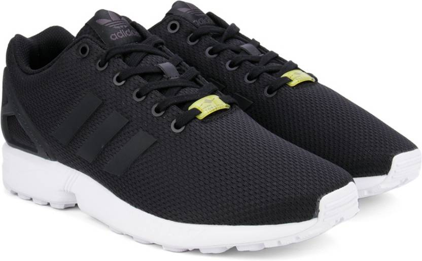 the latest 155ec cad95 ADIDAS ORIGINALS ZX FLUX Sneakers For Men (Black)