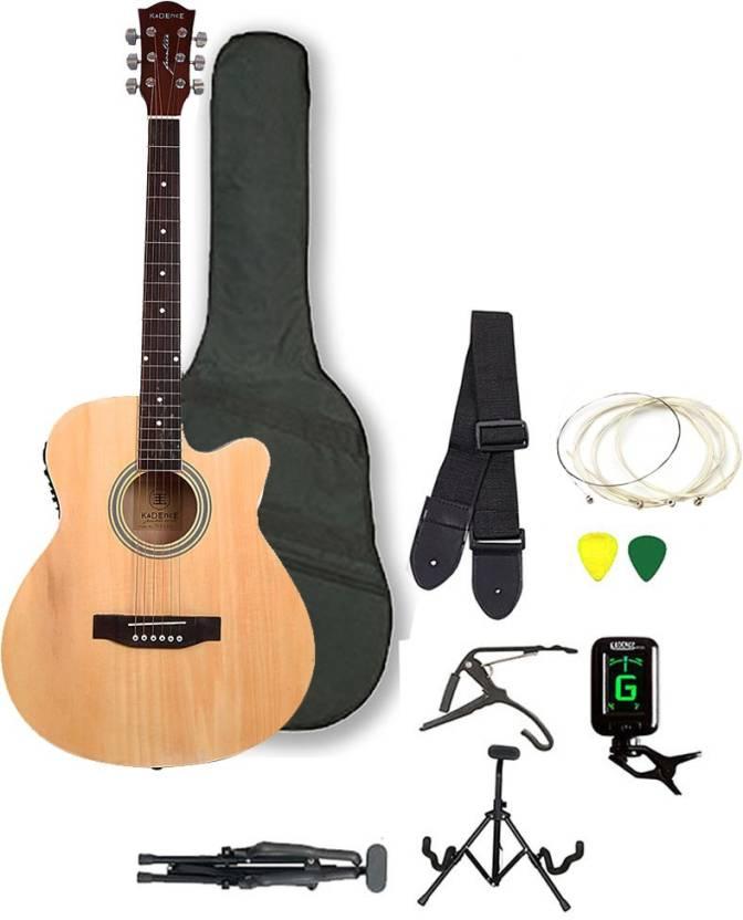 Kadence KAD-NAT-41J-EQ-SC Spruce Acoustic Guitar