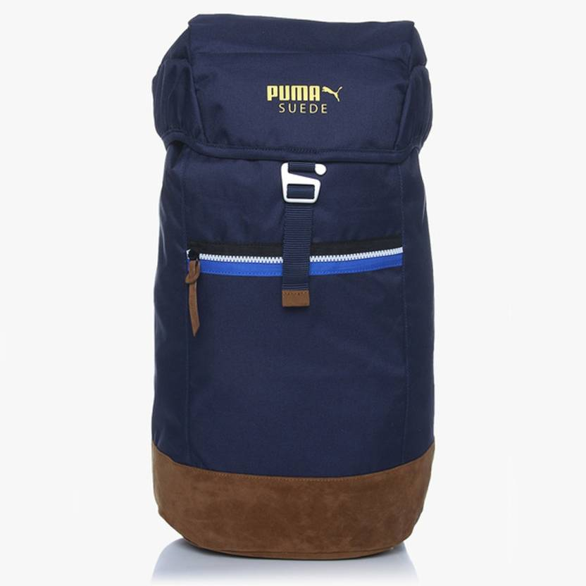 finest selection 3ff4d 55158 Puma Suede Backpack - 07417903 1 L Backpack Navy Blue ...