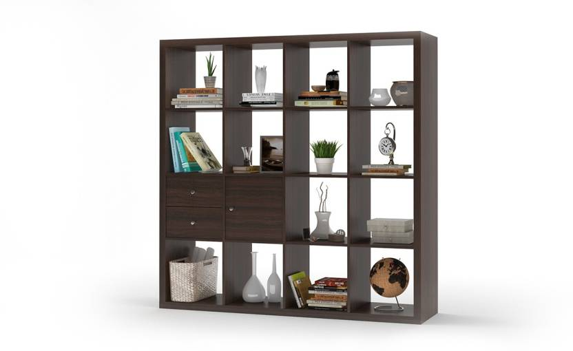 Urban Ladder Boeberg Bookshelf 4 X Inserts 1 Cabinet Drawers Engineered