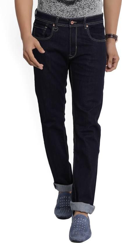Peter England University Slim Mens Dark Blue Jeans