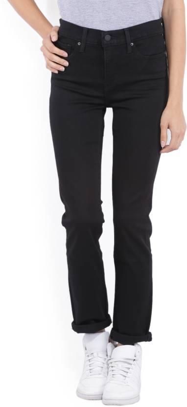 Levi's Slim Women's Black Jeans