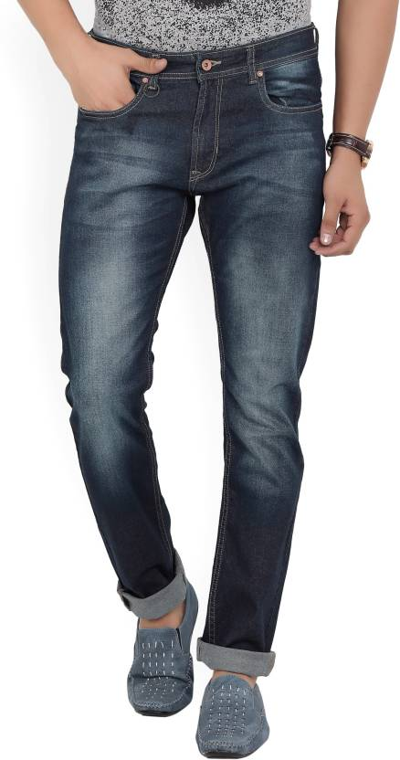 Peter England University Slim Men's Dark Blue Jeans