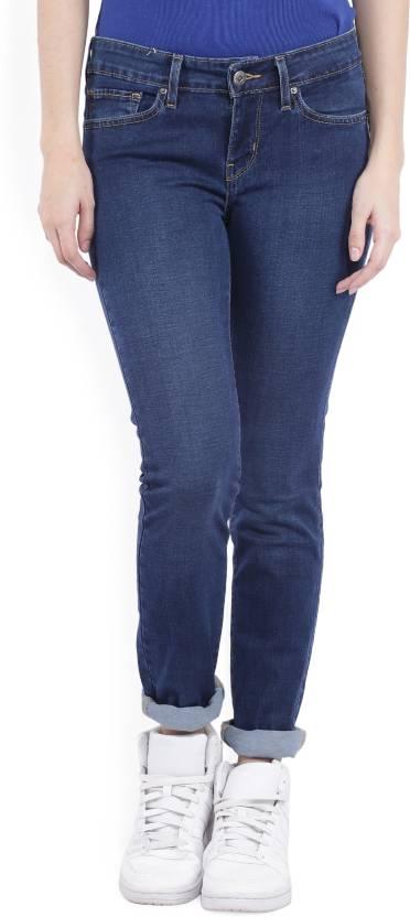 Levi's Skinny Women's Dark Blue Jeans
