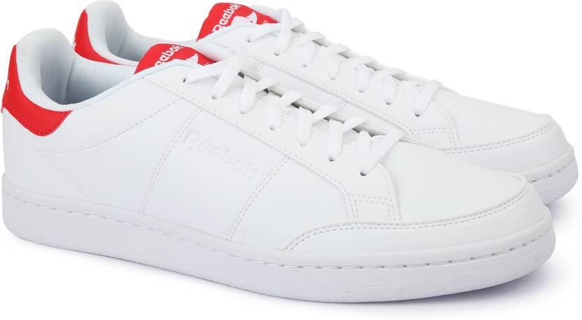 62bdbf7e038 REEBOK ROYAL SMASH Sneakers For Men - Buy WHITE PRIMAL RED Color ...