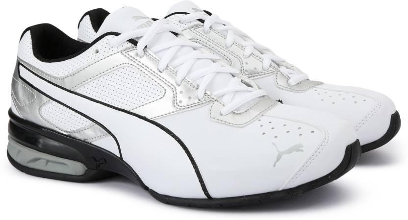 9adf7d109c2b2e Puma Tazon 6 FM Running Shoes For Men - Buy Puma White-Puma Silver ...