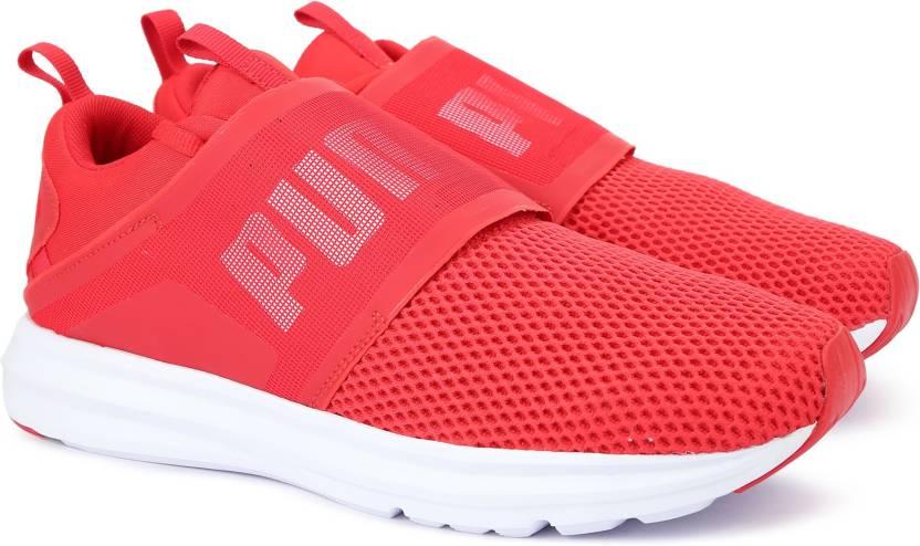 8635c3aa55f Puma Enzo Strap Running Shoes For Men - Buy Toreador-Puma White ...