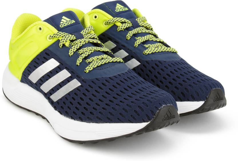 save off ab315 afc69 ADIDAS HELKIN 2.0 M Running Shoes For Men (Blue, Green)