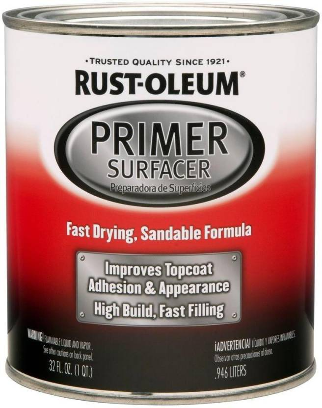 Rust Oleum Hard Hat Primer.Rust Oleum Automotive Primer Surfacer Gray Spray Paint 946 Ml Price
