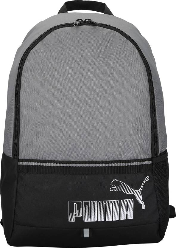 7c61e5d234d Puma Phase II 23 L Laptop Backpack Puma Black-QUIET SHADE - Price in ...
