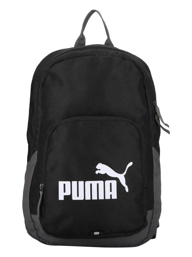 e258961924a Puma Phase 21 L Laptop Backpack Black - Price in India   Flipkart.com