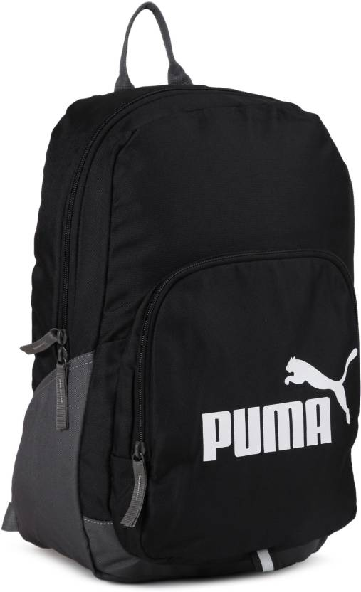 Puma Phase 21 L Backpack Black - Price in India  08a268eda788f