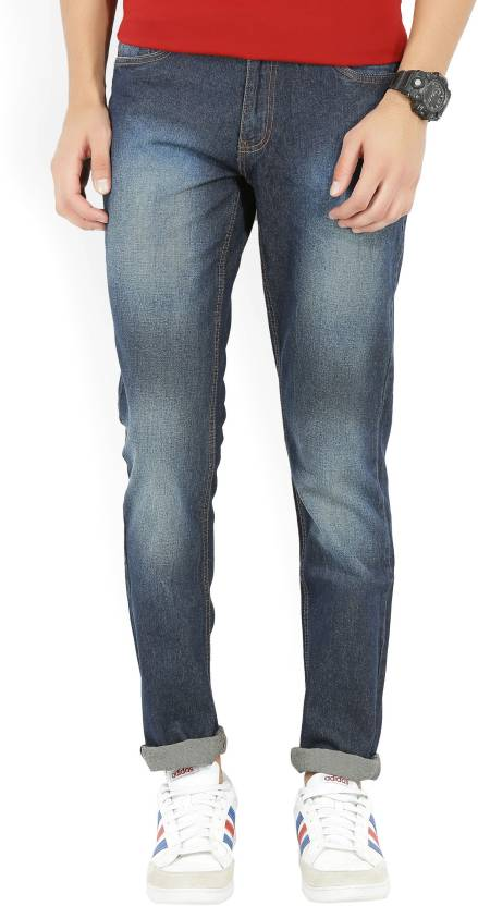 Newport Slim Mens Dark Blue Jeans