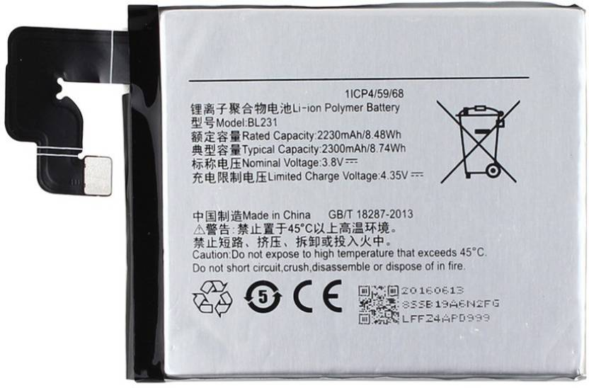 new style 7889c 3979e Koloredge Mobile Battery For Lenovo X2,Vibe X2