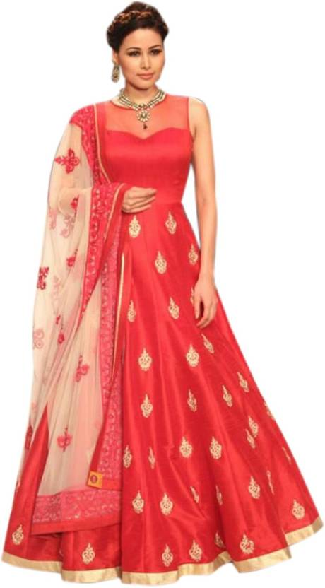 Aika Anarkali Gown Price in India - Buy Aika Anarkali Gown online at ...