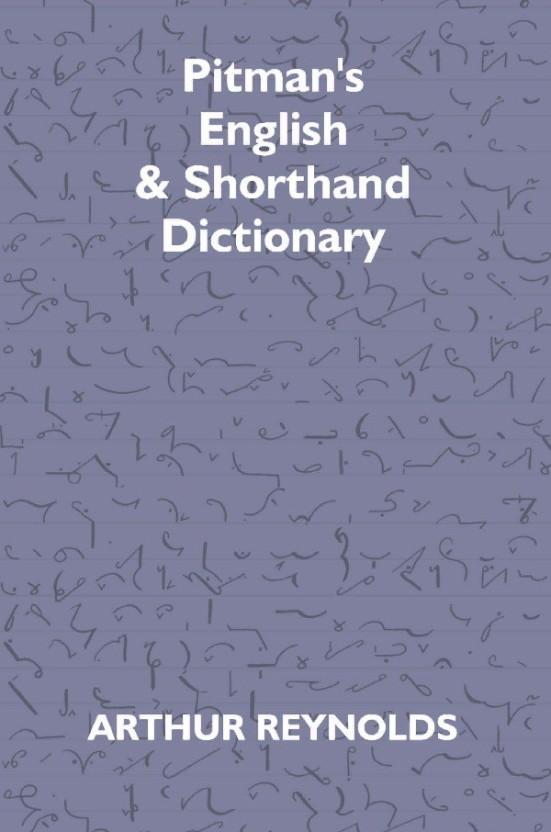 Shorthand Book Of Pitman