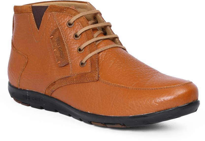 Red Chief Boots - Buy Tan Color Red Chief Boots Online At Best Price - Shop Online For Footwears ...