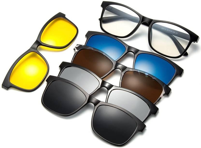 5f11b3ac69 Buy Bruzone Spectacle Sunglasses Grey