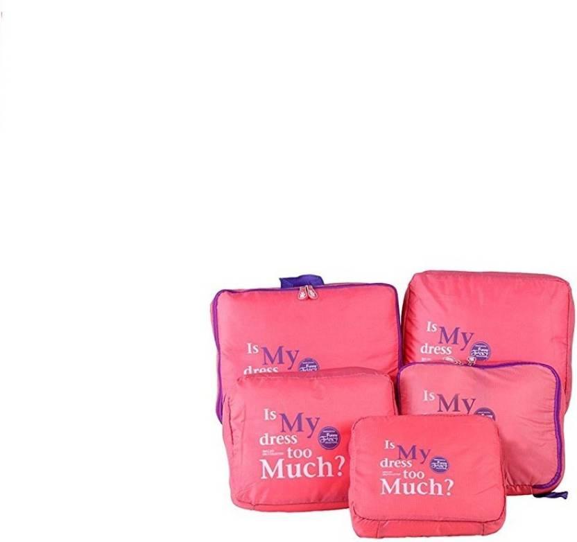 ShopyBucket 5 In 1 Travel Bag Organizer, Set Of 5