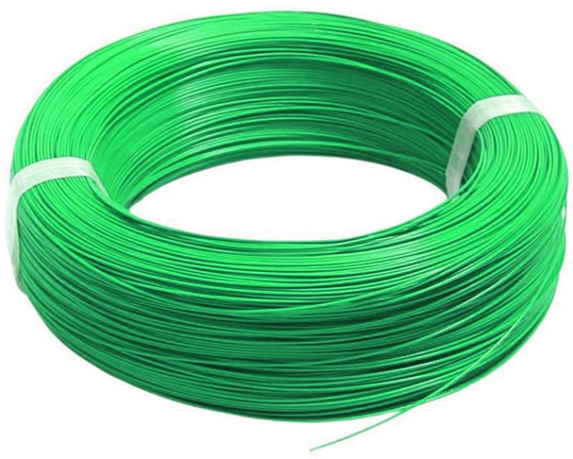 Oem Silicone Rubber 16 Awg Green 1 M Wire Green