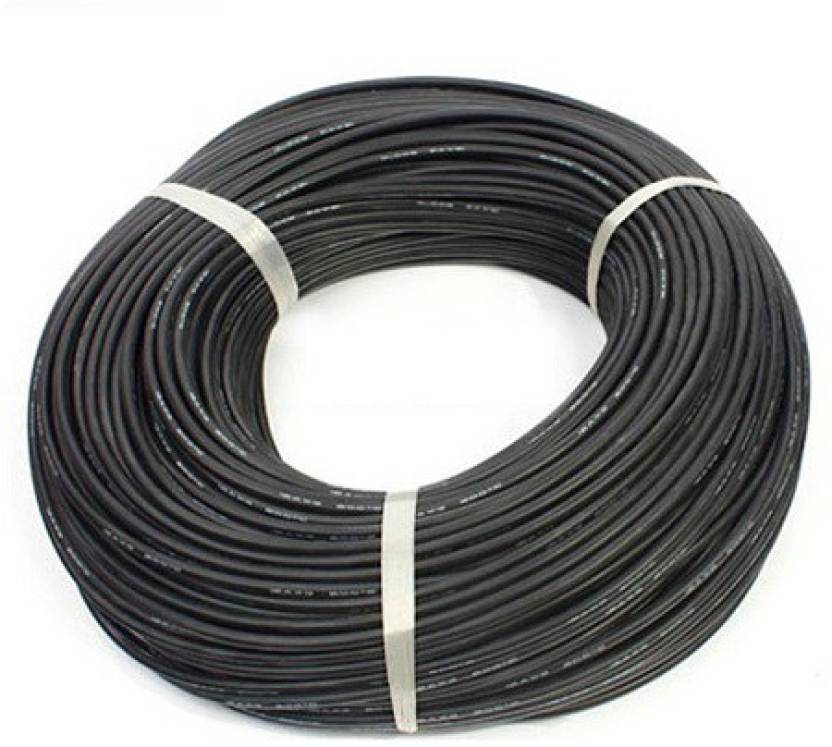 Oem Silicone Rubber 14 AWG Black 1 m Wire Price in India - Buy Oem ...