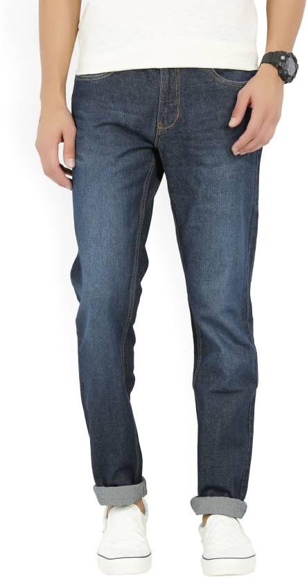 Newport Slim Mens Dark Blue Jeans
