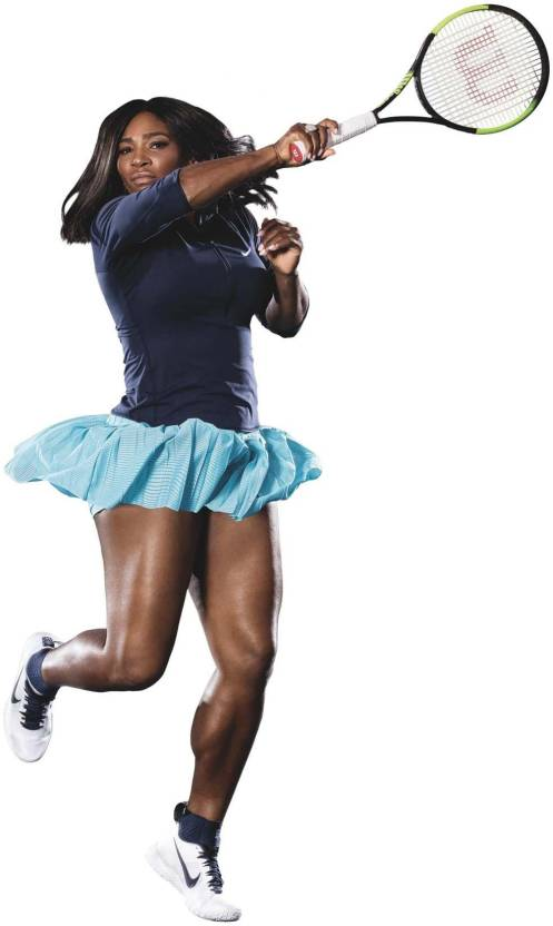 22880bb42 Spirit Of Sports - Tennis Poster - Serena Williams Poster - Legend Of Tennis  - Premium Quality Poster Paper Print (17 inch X 12 inch