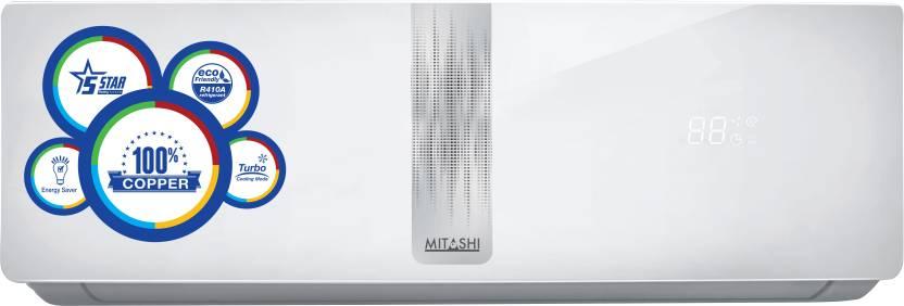 Mitashi 1 Ton 5 Star Split AC  - White