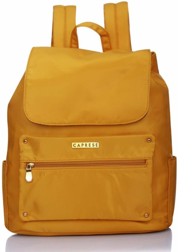 8ae0d14201 Caprese Rihanna Backpack Medium Ochre 5 L Backpack (Yellow)